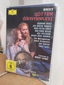 Götterdämmerung: Metropolitan Opera (Luisi) DVD NEW Region Free Richard Wagner
