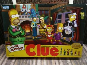 2002 The Simpsons Parker Brothers Clue Board Game Replacement Pieces YOU CHOOSE
