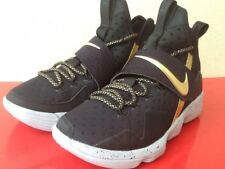 Nike Lebron XIV ID Black 926720 991 Size 7 Men's