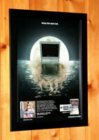 Final Fantasy IV 4 Rare Small Poster / Old Ad Page Framed Game Boy Advance NDS