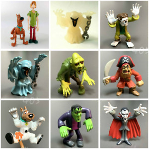 Scooby-Doo Wolfman Haunted Dracula Wacky & Shagg Frankenstein Zombie Figure toys