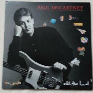 "Paul McCartney - All The Best! - 1987 2 x 12"" Vinyl Album"