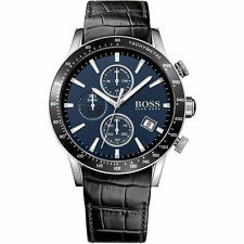 NEW HUGO BOSS 1513391 MENS RAFALE CHRONOGRAPH WATCH - 2 YEAR WARRANTY