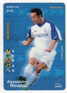 FOOTBALL CHAMPIONS 2002 2003 - ALESSANDRO RINALDI - ATALANTA