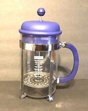 Bodum Chambord 8 Cup French Press Coffee Maker 34 Oz Blue