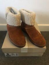 Clarks Drafty Haze Tan Suede Ladies Boots UK 6.5 D / EUR 40