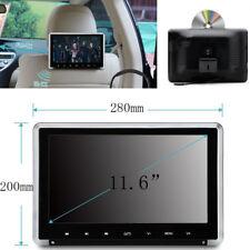 """11.6"""" HD auto poggiatesta Monitor DVD Video game Player gli angoli di visualizzazione regolabile"""