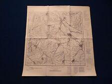Landkarte Meßtischblatt 4326 Lindau, Bilshausen, Katlenburg-Duhm, 1945