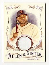 PABLO SANDOVAL MLB 2016 TOPPS ALLEN AND GINTER RELICS (BOSTON RED SOX,GIANTS)