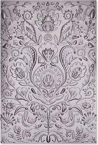 Sizzix Folk Doodle 3D Embossing folder #664527 Retail $10.99 by Jessica Scott