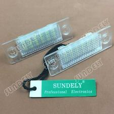 2x LED License Plate Light For Volkswagen VW JETTA CADDY TOURAN GOLF PLUS
