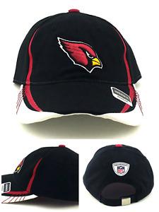 Arizona AZ Cardinals New Women Ladies Reebok OnField Black White Red Era Hat Cap