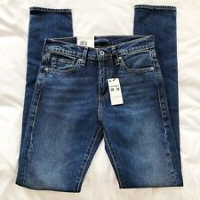 NWT Levi Made & Crafted 510 Skinny Jeans 28x34 Premium Big E MSRP $148