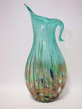 Art Glass Table Flower Vase home decoration Multi-coloured Brand new 17cm*39cm
