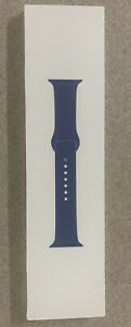 SEALED Alaskan Blue MX0M2AM Genuine Apple Watch Sport Band 42mm 44mm.