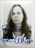 "KEVIN WELCH Autographed 5 x 7"" PHOTO Postcard 90's COUNTRY Singer WRITER"