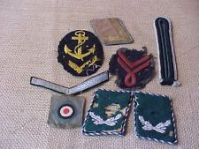 LOT OF ORIGINAL WWII GERMAN PATCHES