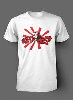Wax On Wax Off Karate Kid Inspired T-shirt - Mr Miyagi Retro 80's Film NEW