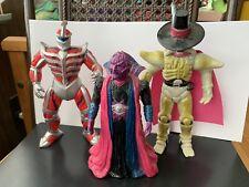 Mighty Morphin Power Rangers Bandai Figures, Ivan Ooze, Lord Zed, And Bones Lot