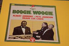 ALBERT AMMONS TRIO LP TOP JAZZ GENIUS OF BOOGIE WOOGIE ITALY 1984 SIGILLATO