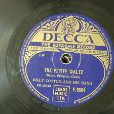 78rpm BILLY COTTON the petite waltz / i only saw him once
