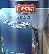 Owatrol Marine  D2 Bootspflege Holzschutz Holzboote HOCHGLANZSCHICHT 1  Liter