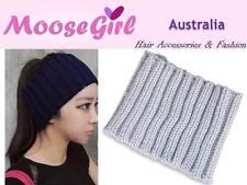 Crochet Warm Head Wrap Headband Knitted Woman Ladies Winter Hair Band Wrap