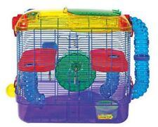 Kaytee Critter Trail 2 Story Habitat for Gerbils, Hamsters, Mice, Expandable Fun