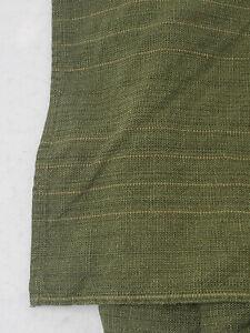 Tommy Bahama Queen Bed Skirt Dust Ruffle Green Woven 100% Cotton Split Corner