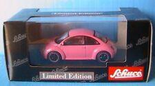 VW VOLKSWAGEN NEW BEETLE SCHUCO 1/43 PINK ROSE 3 DOORS COCCINELLE
