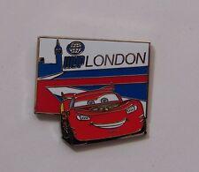 Disney Pin Disney Pixar Cars 2 Mystery Collection Lightning McQueen London