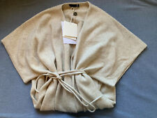 NWT The Row DAYA Beige Silk and Cashmere Cardigan in Size M, Orig. $2390!