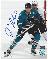 Joe Pavelski San Jose Sharks autographed 8x10 Photo (In-store Signing 10/28/16)