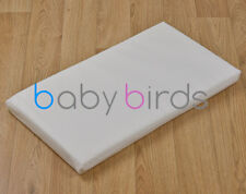Silver Cross Dolls Pram Mattress by Baby Birds One Size Fit All - Delux Quilted