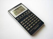 MINT Vtg. Toshiba LC-840 Universal Calendar prestige metal case LCD calculator