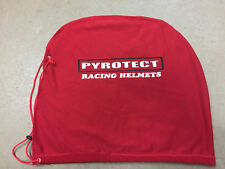 Cloth Fleece Draw String Helmet Bag Pyrotect Racing Helmets