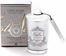 Cote Noire Small Votive Candle-Pink Champagne