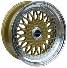 """17"""" GP LENSO BSX ALLOY WHEELS FOR 5X100 VW BORA CORRADO GOLF MK 1V BEETLE POLO"""