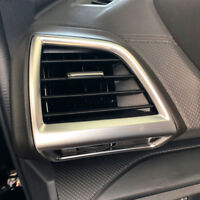 ABS Matte Interior Side Air Vent Outlet Cover Trim for Subaru Forester 2019-2021