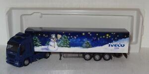 SB237 AWM Iveco Stralis 480 Weihnachten 2006 Werbemodell 1:87 OVP