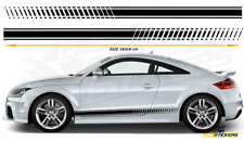 Audi TTS,TTRS Side Racing Stripes Car Stickers Graphics CarDecal Vinyl