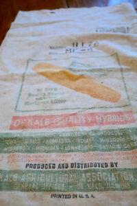 Vintage DeKalb Seed Feed Bag