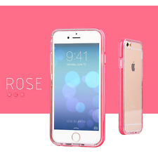 Shockproof Rugged Hybrid Rubber Hard Cover Case for Phone 5 5s SE 6 6s Plus Pink for iPhone 5/5s
