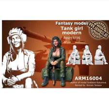 1:35 Scale Tank Girl Modern High Quality Resin Kit