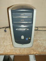 Vintage HP Pavilion 552x Computer Pentium 4 256MB Ram Windows XP Tested Parts