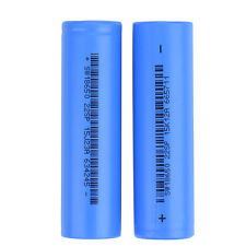 2 Pcs 18650 3.7V 2200mAh Rechargeable Li-ion Battery For Flashlight LO Torch