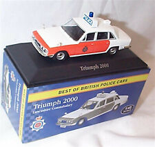 Triumph 2000 Lancashire Constabulary 1-43 Scale New  best of british police car