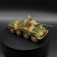 Well Painted 28mm puma armoured car Bolt Action Warlord Games Ww2 1/56 Scale