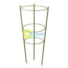 3 Ring Plant Support 450mm Aluminium And Green Plastic Construction New