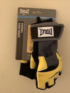 Everlast evergel boxing hand wraps Yellow / Black size large 4355L